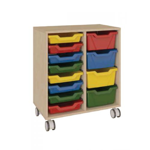 12 tray toy cabinets