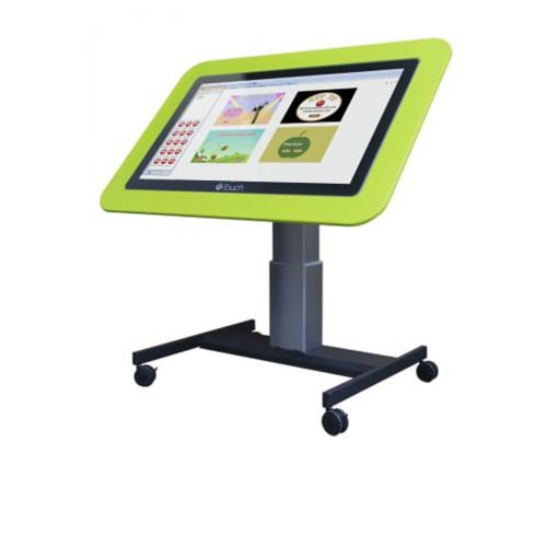 Touch screen panel 25inch with easel stand adjustable