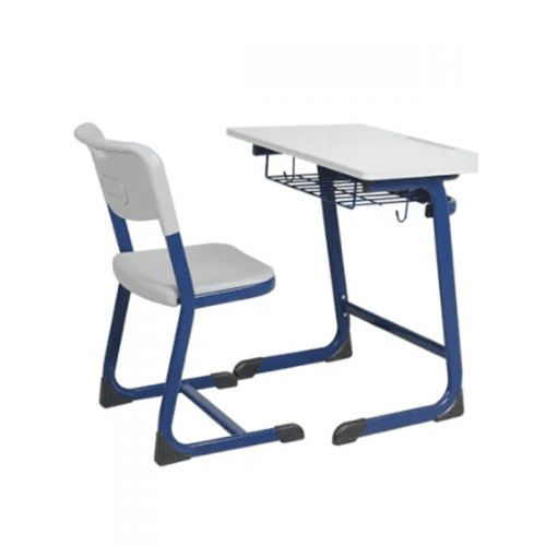 Hot Sell Cheap School Desk and Chair / Single Student Desk and Chair