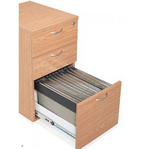 wooden desk racks
