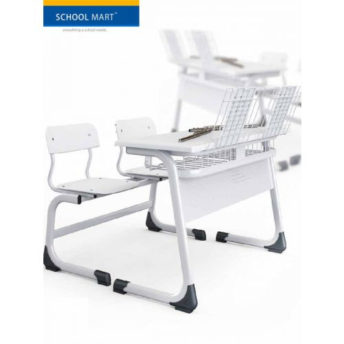 Dual seater with front reading stand