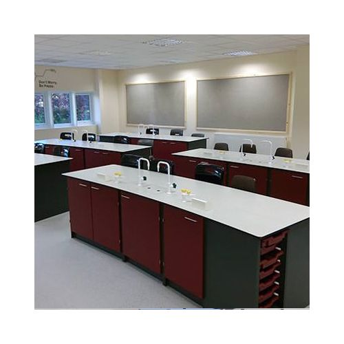 CURIE workstation -CHEMISTRY with base storage and sinks