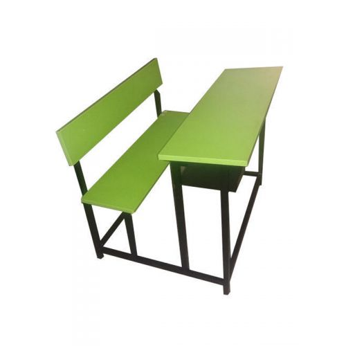 2 Seater bench with back rest singe unit