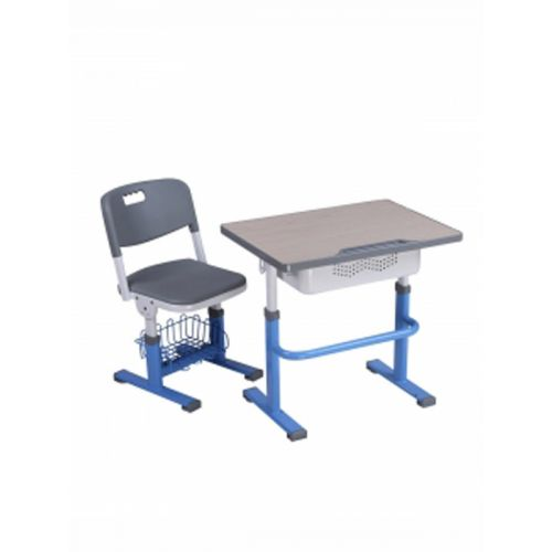 Adjustable chair and desk combo