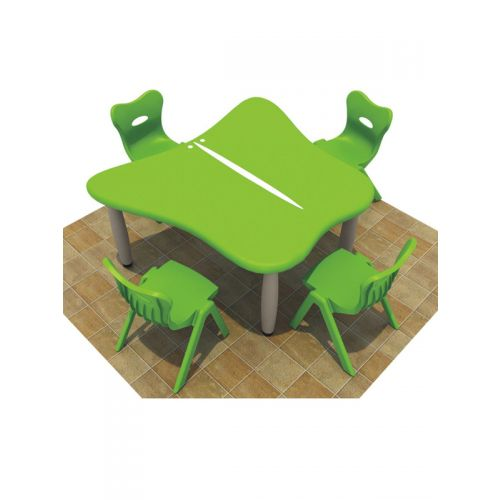 Butterfly 4 seater seating with painted top