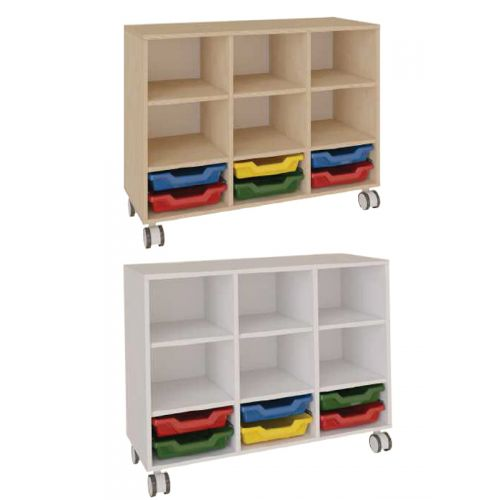 9 cavity toy storage