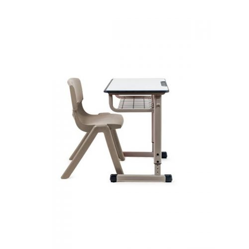 Adjustable first school desk and chair  3