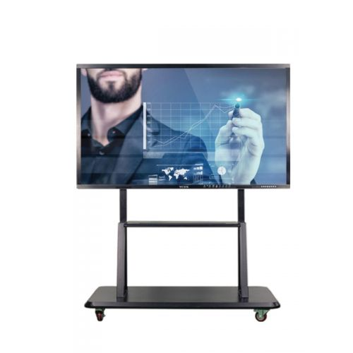 All in one interactive panel with moving stand