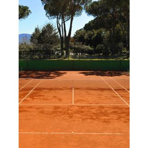 Any clay court ground preparation / Sft
