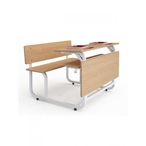 Double seater wooden top