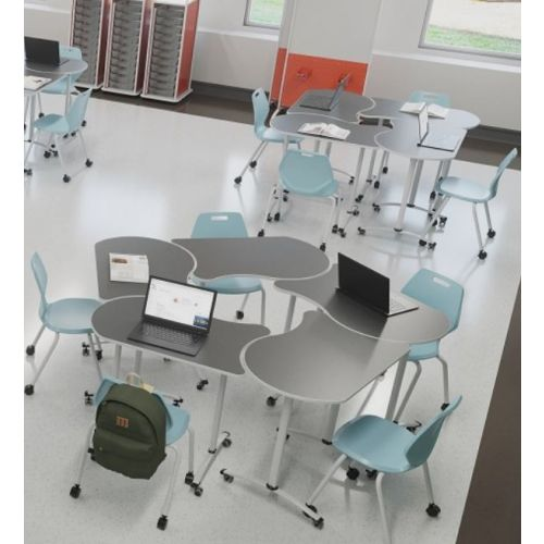 Flexi configuration Classrooms ( For single seater chair and desk combo)