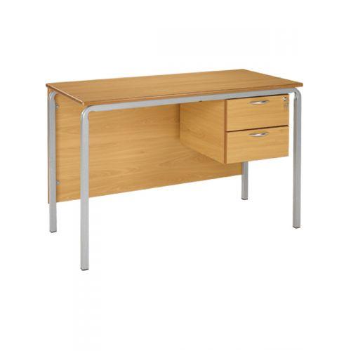 Crushed bent frame teacher desk