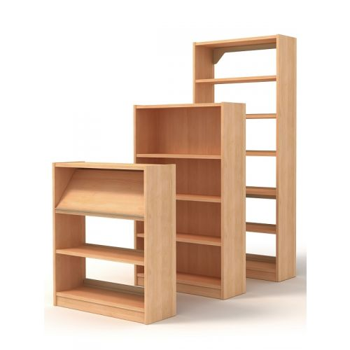 Infinity Library Shelving