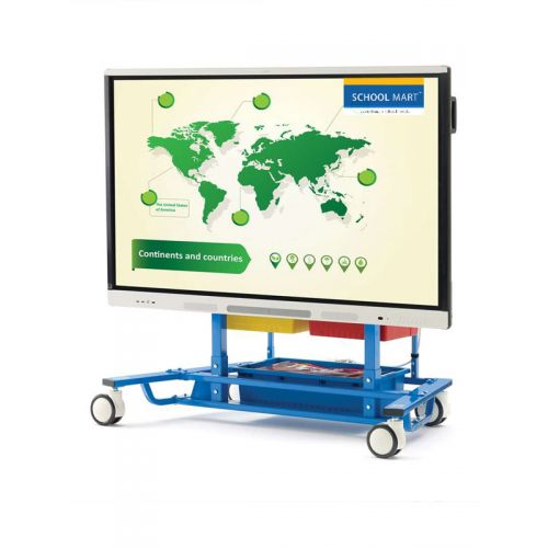 Easel stand for flat LED pannel