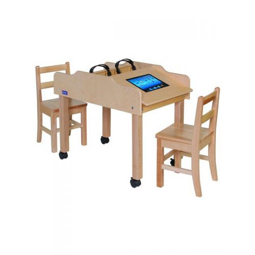 Mobile double sided technology table