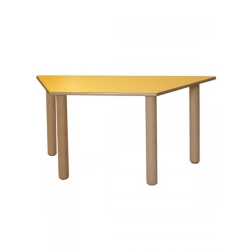 Trapizoidal table
