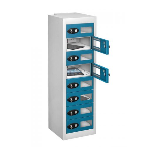 Vision Panel Tablet Charging Lockers