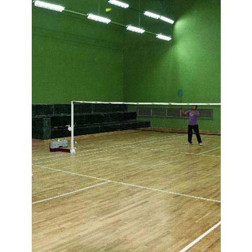 Wooden surface court-badminton  / Sft